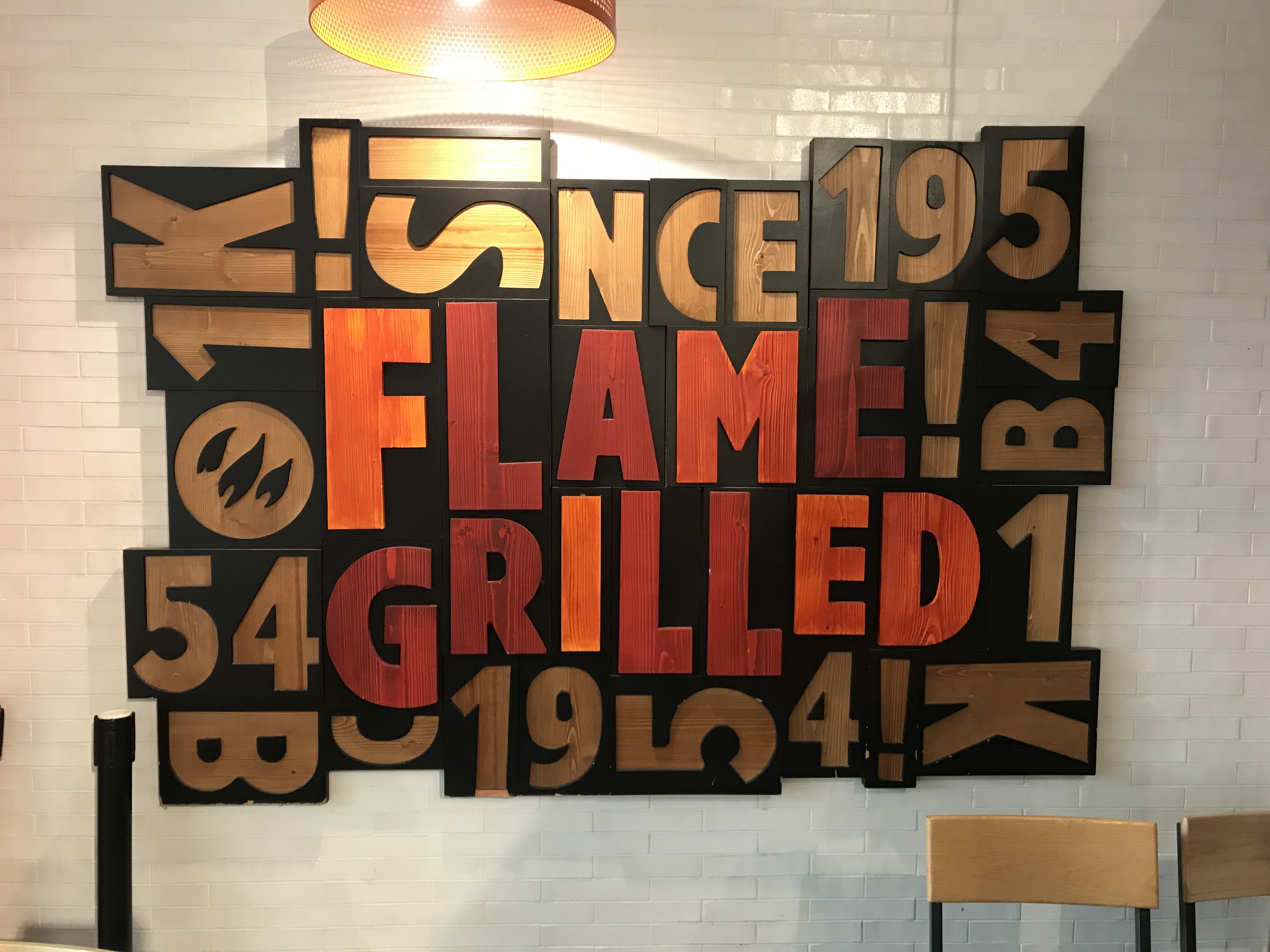 flame grilled